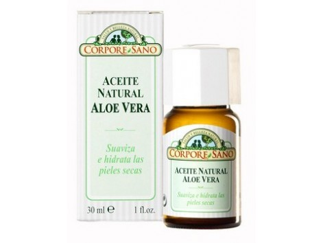 Corpore Sano Body Oil 30ml aloe vera