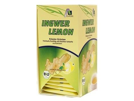 Madal Bal Lemon Ginger with Green Tea-20 sachets.