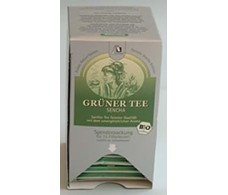 Madal Bal Sencha Green Tea Box with 15 envelopes.