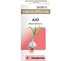 Arkochim / Arkocápsulas Garlic 50 capsules.