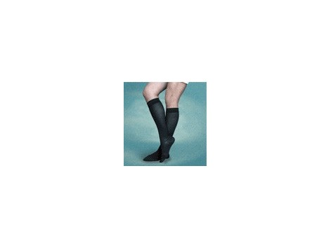SMALL Black Compression Socks 30-40 mm Hg deposit 280 DEN