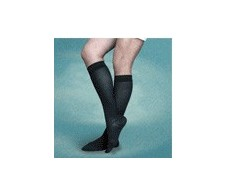 BIG Black Compression Socks 30-40 mm Hg deposit 280 DEN