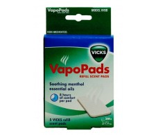 Vicks Vapopads parts. 7 parts of menthol essence