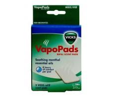 Vicks Vapopads parts. 7 parts of menthol essence
