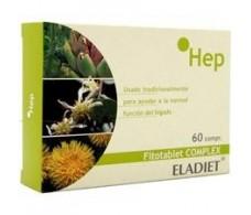 Eladiet Fitotablet Complex Hep  (Liver) 60 tablets.