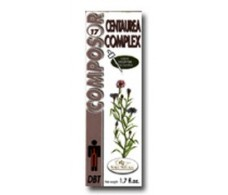 Soria Natural Composor 17 Centaurea complex (diabetes) 50ml.
