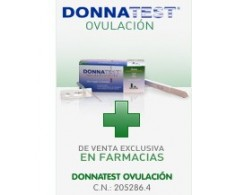 Ovulation Donnatest. 7 + 1 test pregnancy test