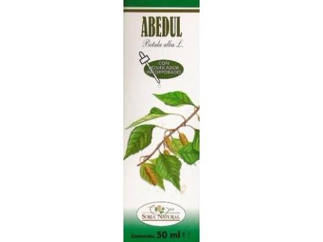 Soria Natural Birch Extract (detoxifies, drip) 50ml.