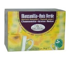 Soria Natural Chamomile Tea and Anise (digestion) 20 filters.