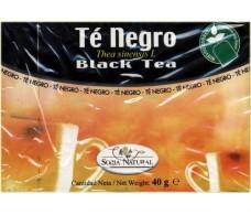 Soria Natural Black Tea Infusion (Stimulans, Diuretikum) 20 Filt