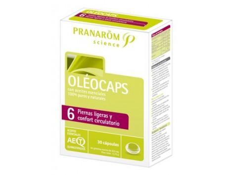 Pranarom Oleocaps-6 Circulatory and Comfort Light Legs 30 capsul