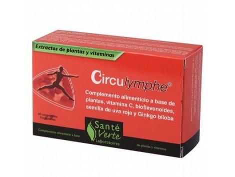 Sante Verte Circulymphe 60 tablets.