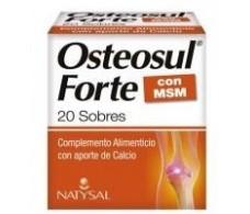 Natysal Osteosul Forte 20 envelopes.