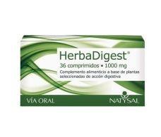 Natysal Herbadigest 36 tablets.