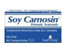 Natysal Soy Carnosine 60 tablets.
