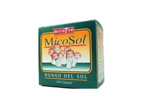 Micoter Micosol  (Sun Mushroom Agaricus Blazei-Murril) 120 capsu