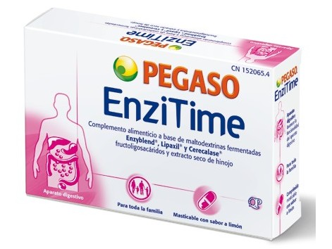 Pegaso Enzitime 24 chewable tablets.