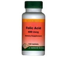 Pal Folic Acid (Vitamin B9 Folic Acid 400mg) 100 tablets.