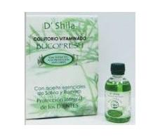 D'Shila Bucofresh Sage and Rosemary Mouthwash (5% Xylitol) 50ml.