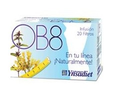 OB8 Ynsadiet Infusion (Weight control) 20 envelopes.