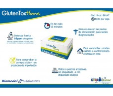 Biomedal GlutenTox Home  5 TEST  (test para detectar presencia de gluten)