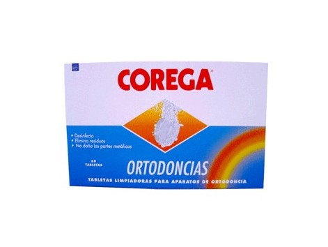 Choregus ortodoncias 30 cleaning tablets
