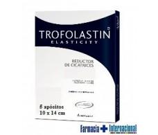 TROFOLASTIN Reducer 10x14cm hypertrophic and keloid scars.