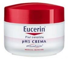 Eucerin Piel Sensible pH5 Crema 100ml.