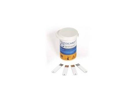Glucocard G sensor strips 50 pcs. Menarini