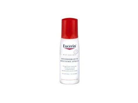 Eucerin Piel Sensible Desodorante Bálsamo Spray, 75ml.