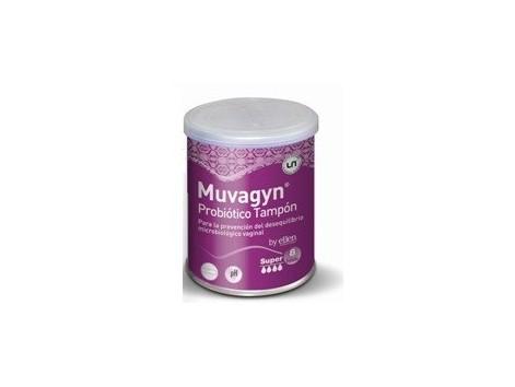 Muvagyn Tampon Probiotico Super 8 unidades.